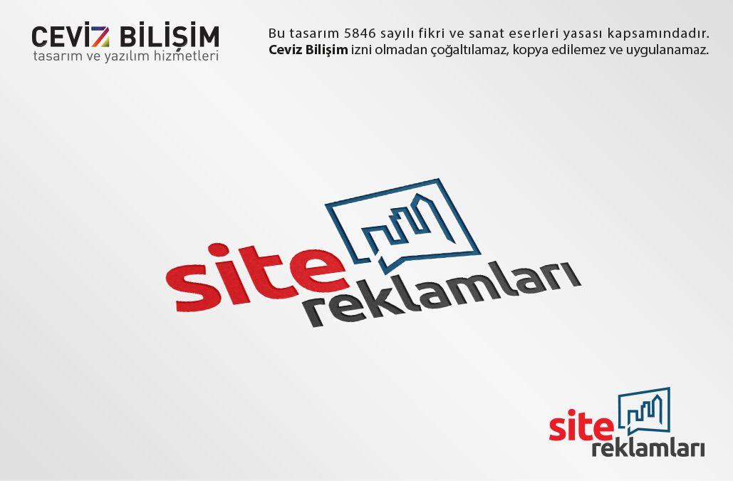 Site Reklamları Logo Tasarımı