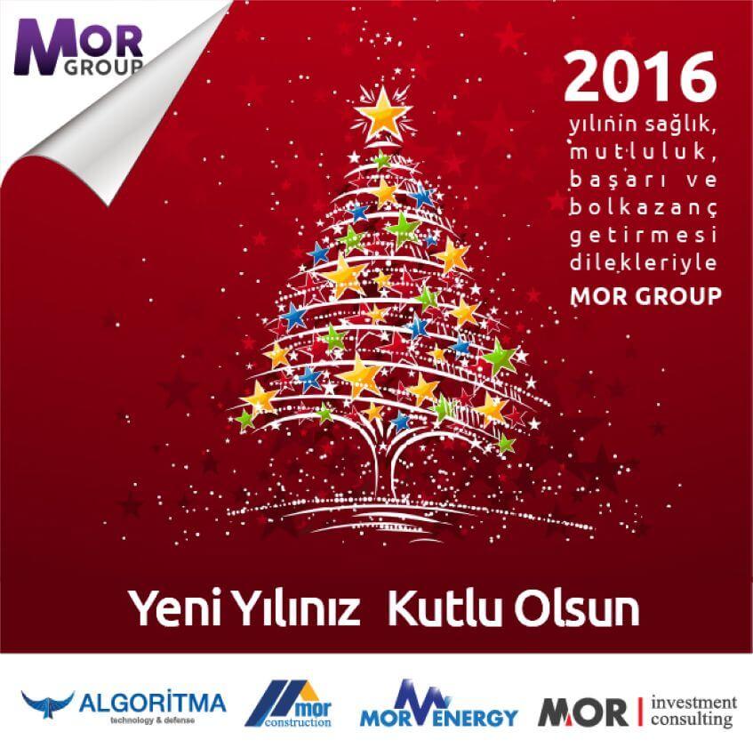 Mor Group Sosyal Medya - Yeni Yıl Tebrik Kartı