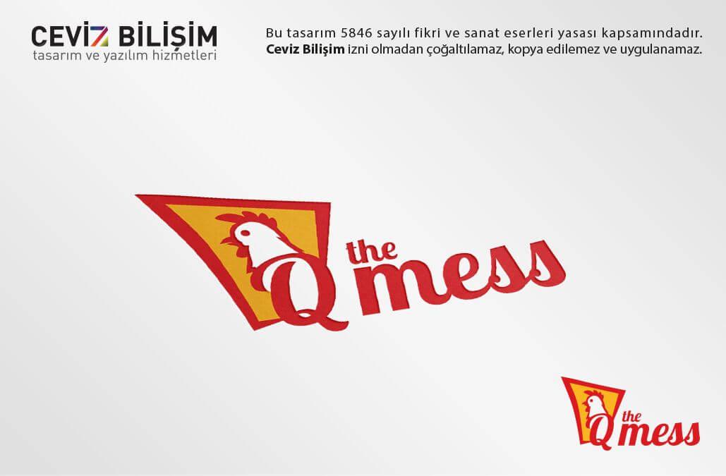 Qmess Logo Tasarımı