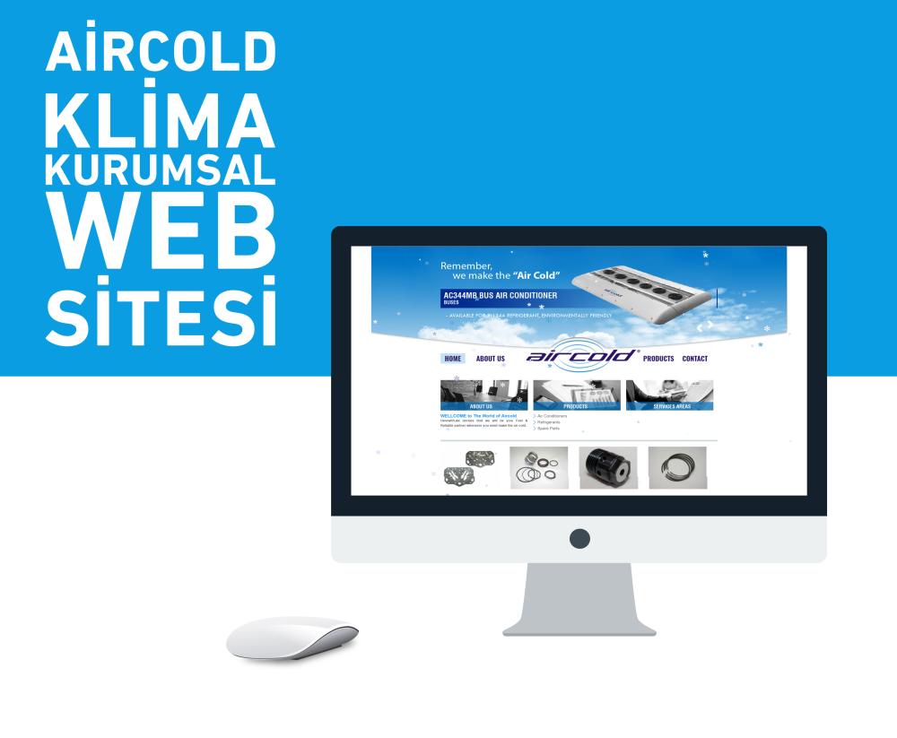 Aircold Kurumsal Web Tasarımı