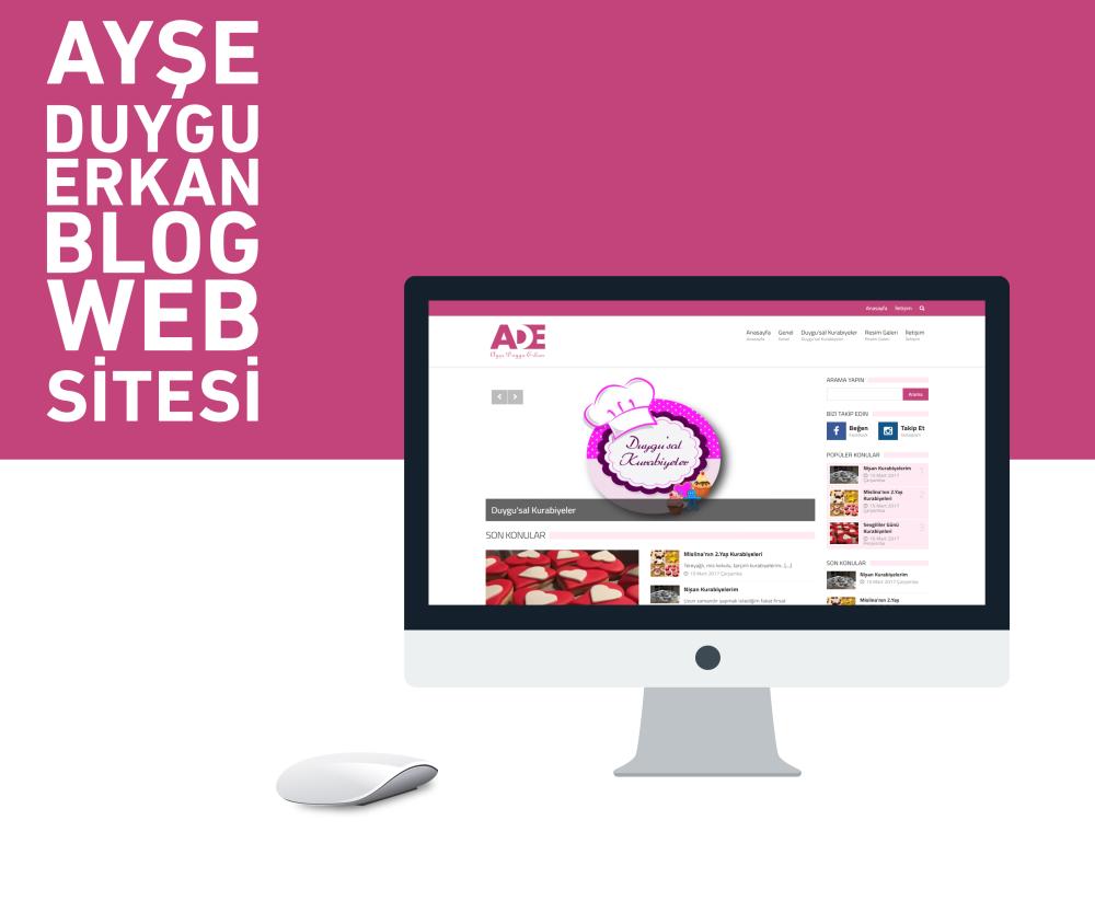 Ayşe Duygu Erkan Kurumsal Web Sitesi