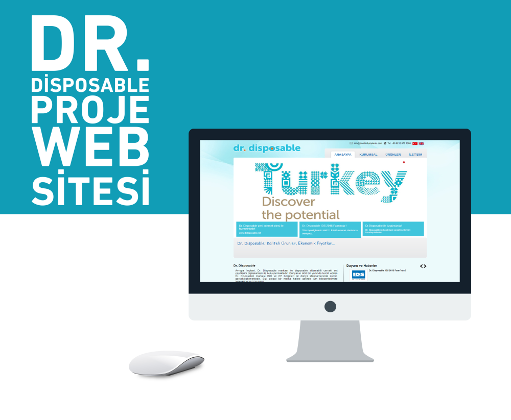 DR Disposable Web Tasarımı