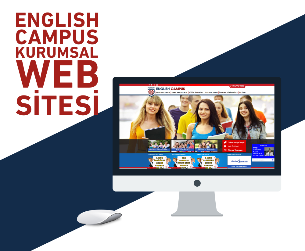 English Campus Web Tasarım