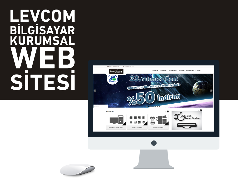 Levcom Bilgisayar Web Tasarım