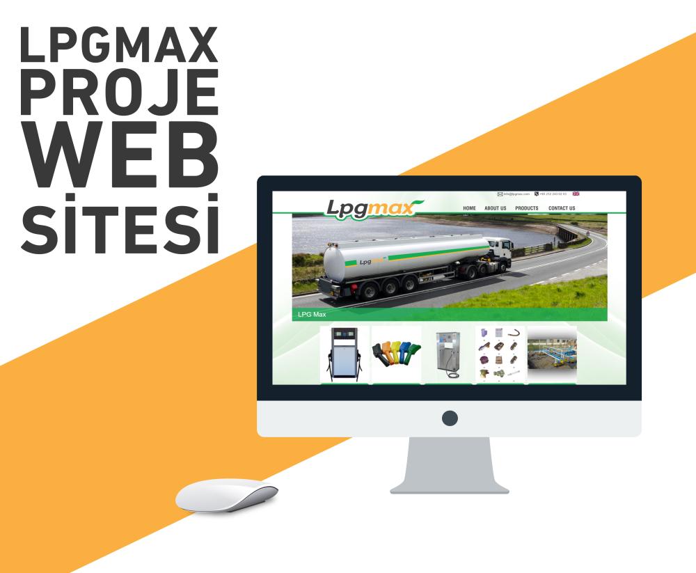 Lpgmax Web Tasarım