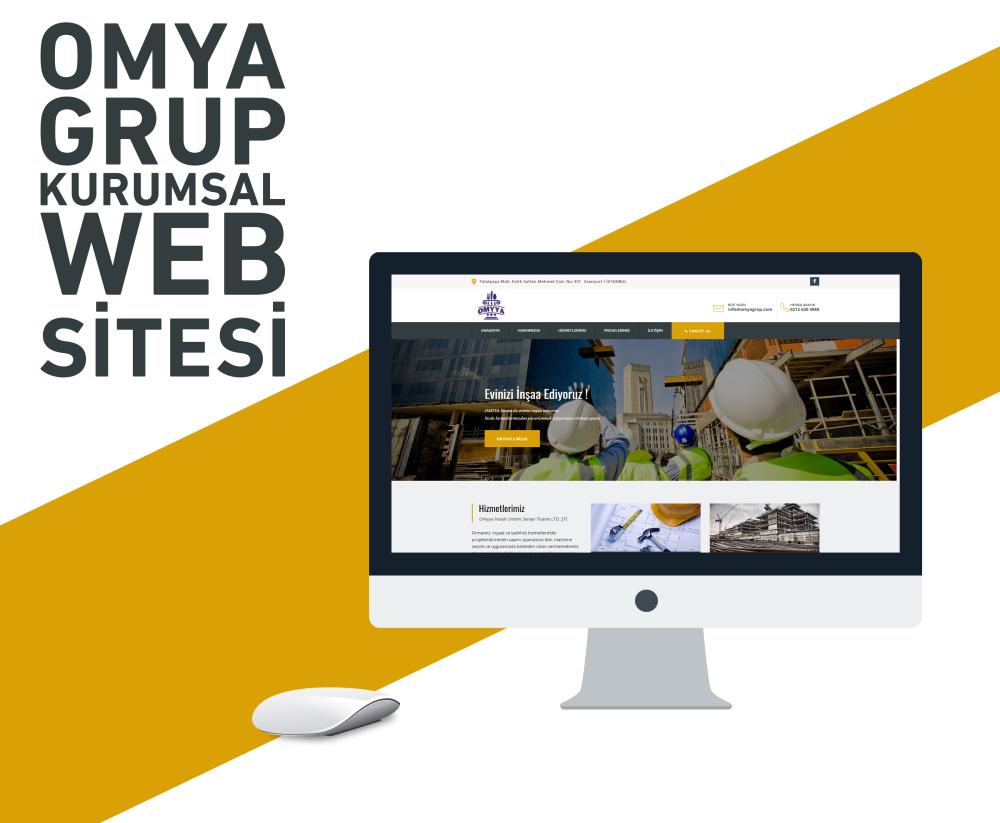 OMYA Grup Web Tasarımı
