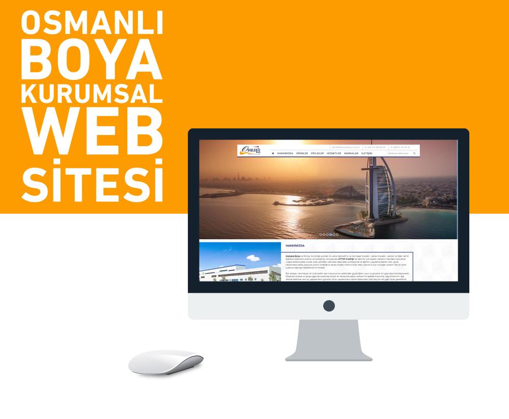 Osmanlı Boya Kurumsal Web Sitesi