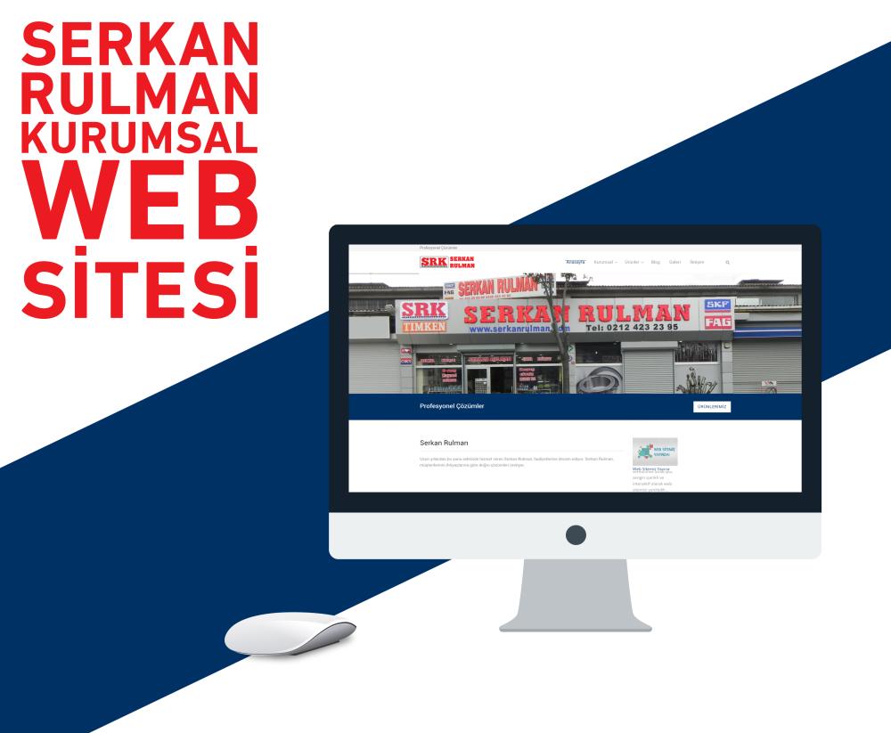 Serkan Rulman Web Tasarım