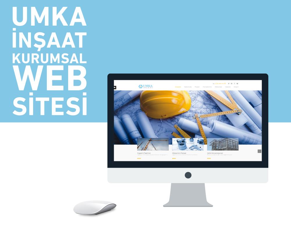 Umka İnşaat Web Tasarım