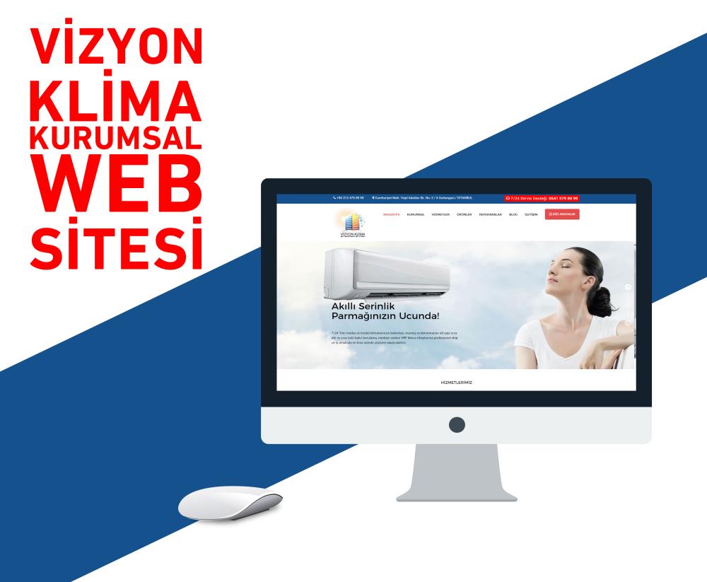 Vizyon Klima Web Yazılımı