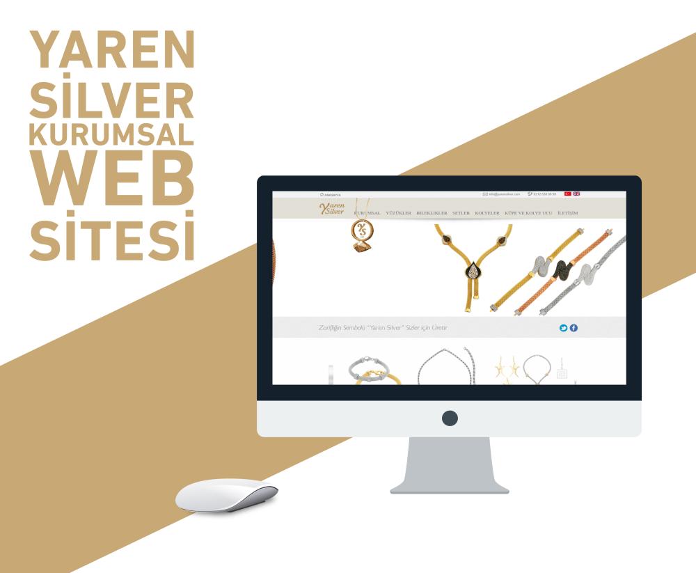 Yaren Silver Web Tasarımı