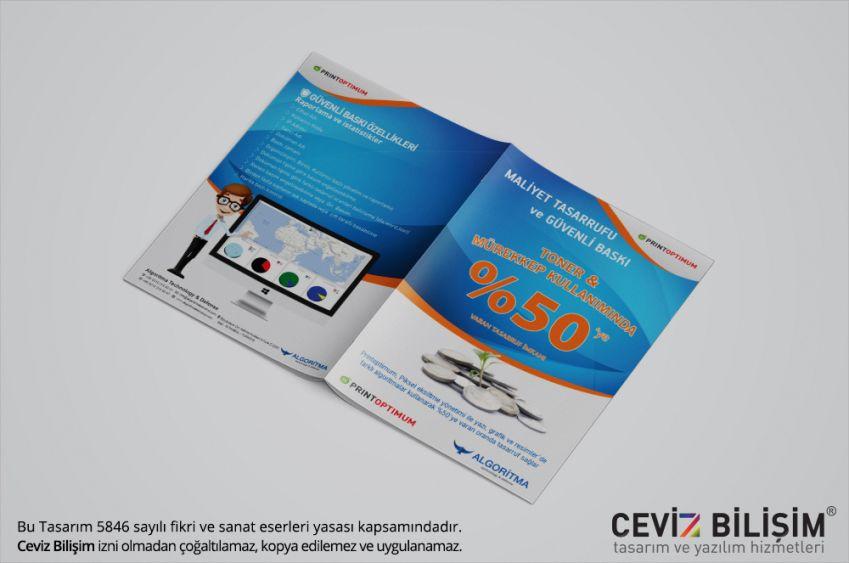 Print Optimum Broşür Tasarımı
