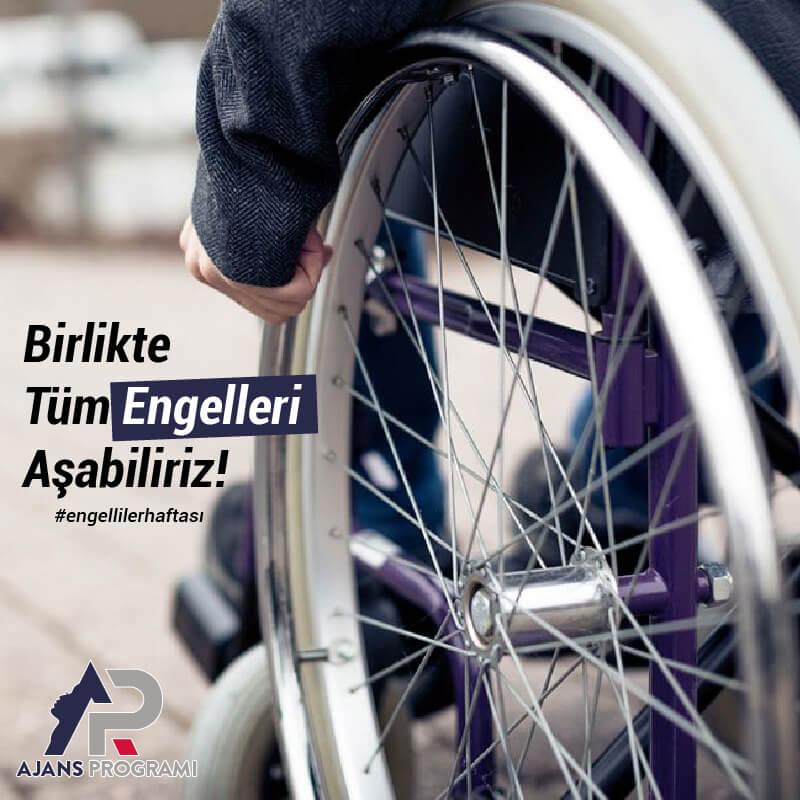 Engelliler Haftası Sosyal Medya Paylaşımı