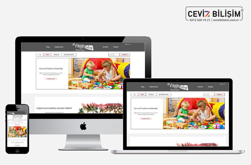 Virago Blog Web Tasarım ve Yazılımı