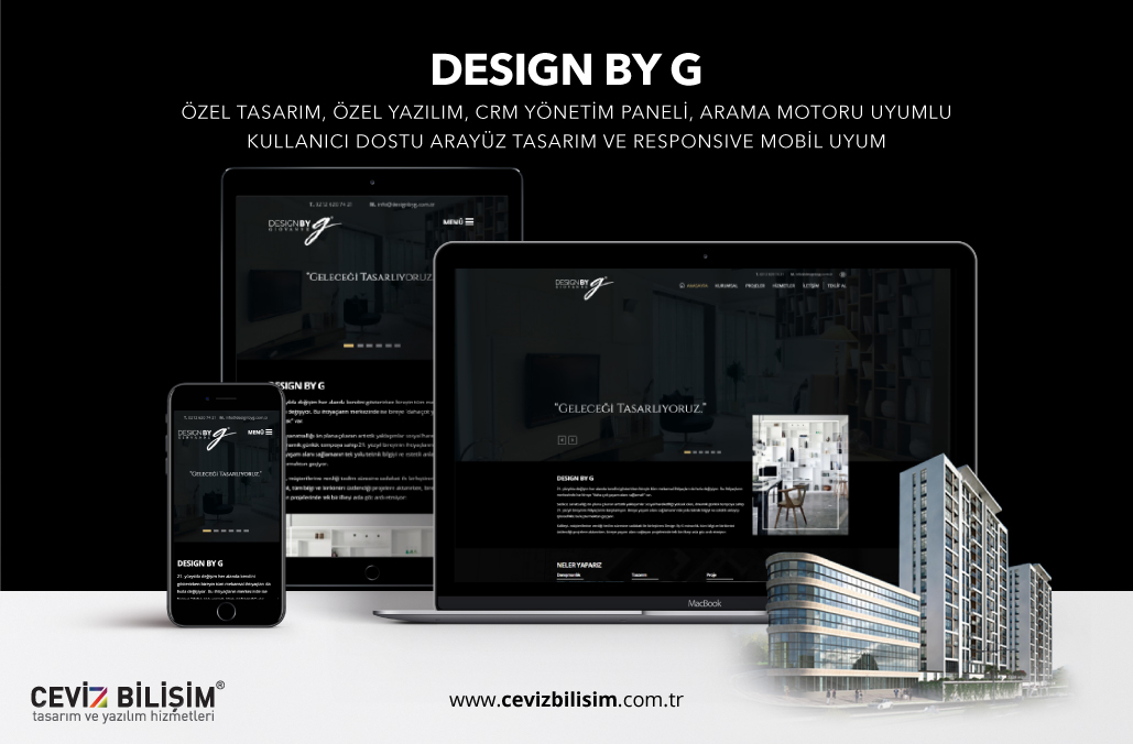 Design By G Mimar İnternet Sitesi