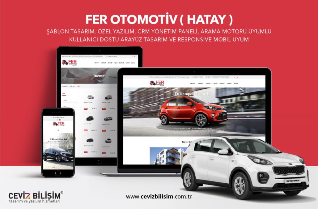 Fer Otomotiv Web Tasarımı