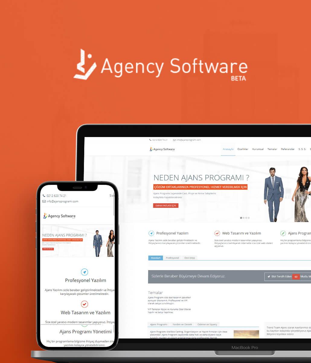 Agency Software Kurumsal Web Tasarımı