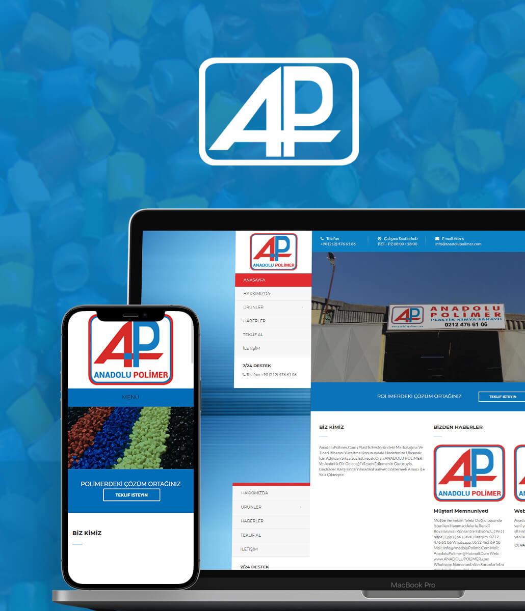 Anadolu Polimer Kurumsal Web Sitesi