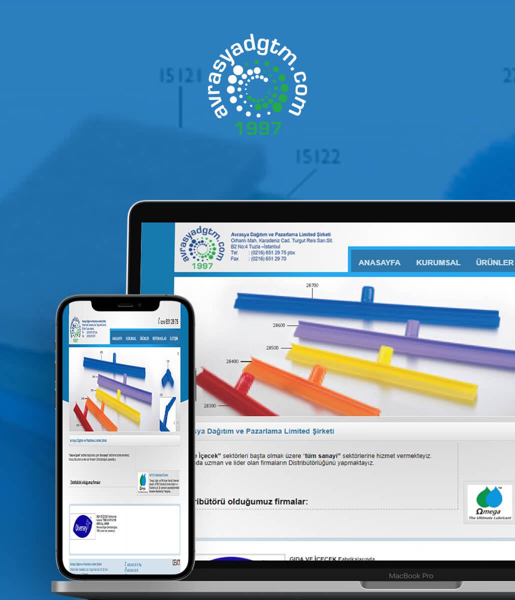 Avrasya Dağıtım Web Tasarım