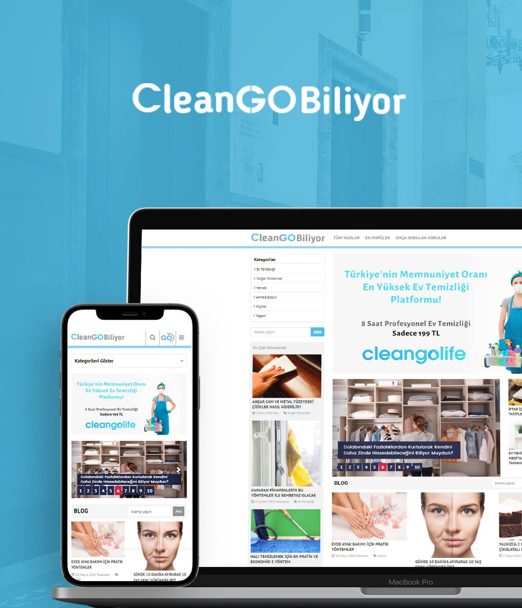 Cleango web tasarım
