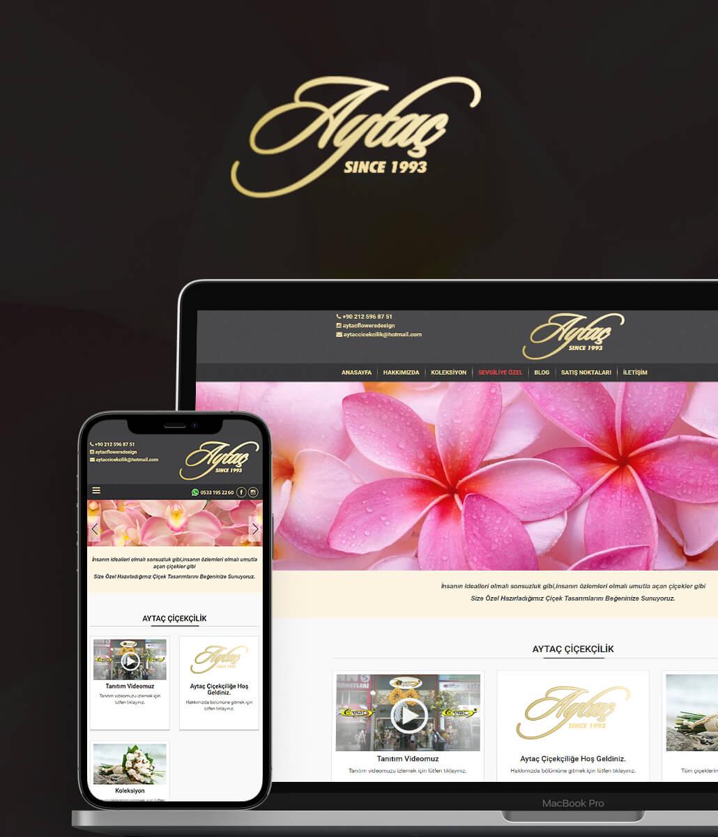 Aytaç Çiçekçilik Web Tasarımı