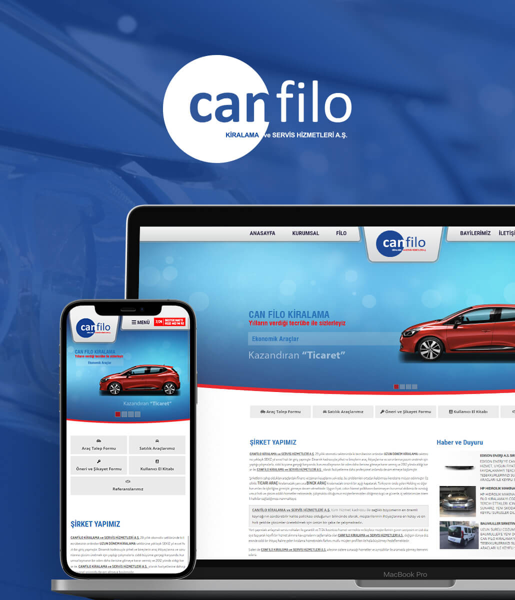 Can Filo Web Tasarımı