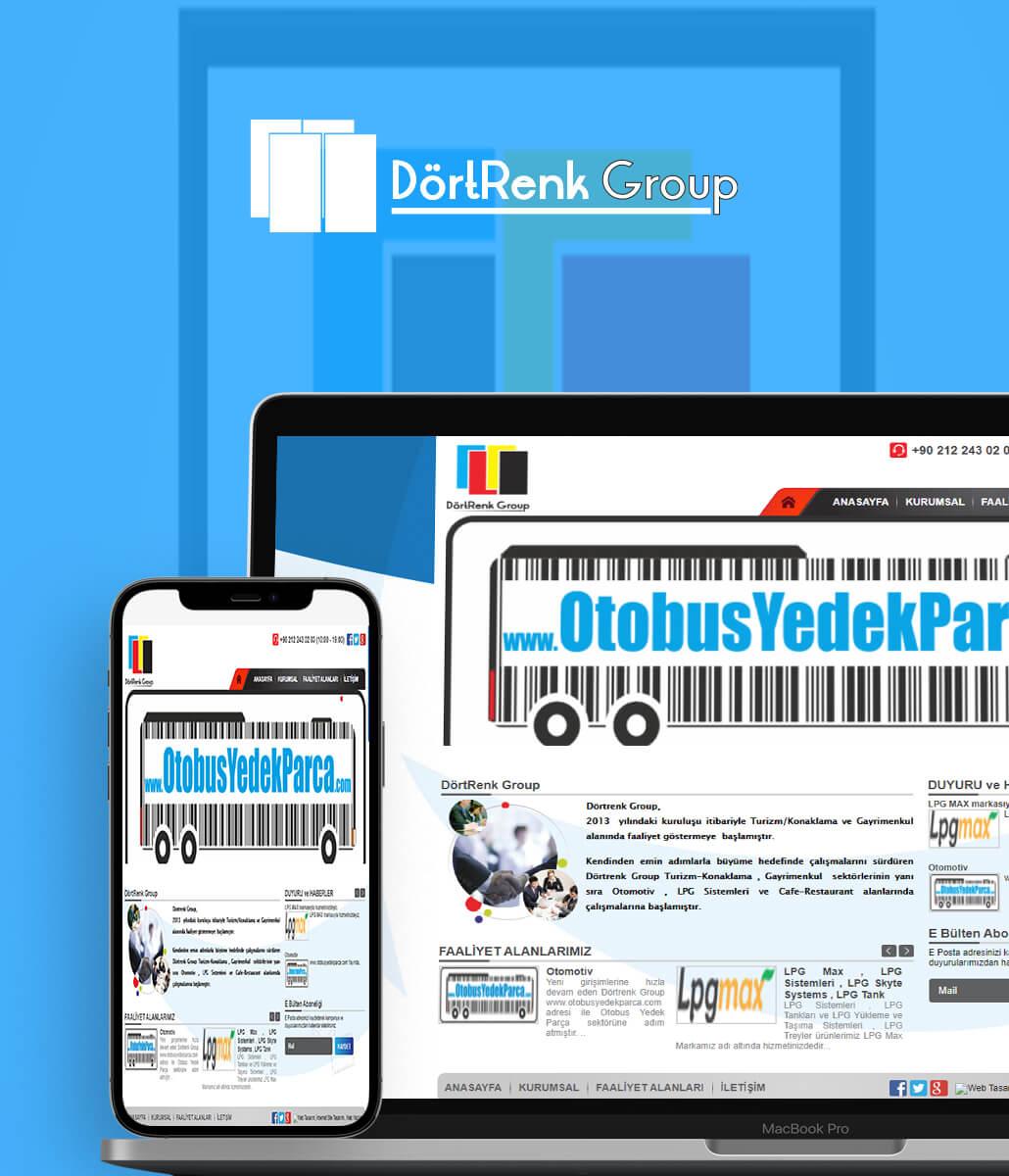 Dörtrenk Group Web Tasarım