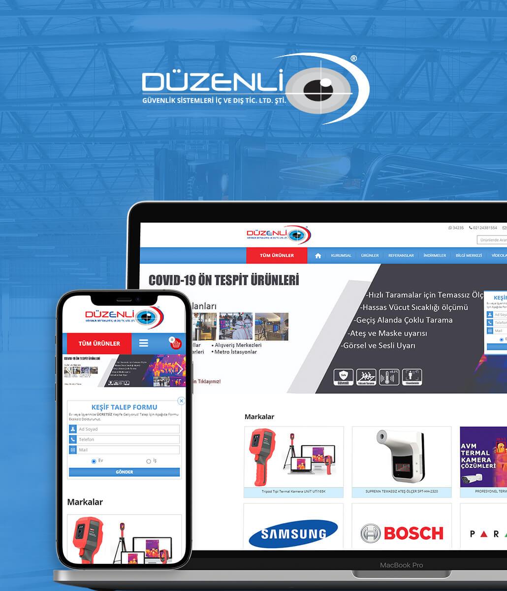 Düzenli Elektronik Web Tasarım