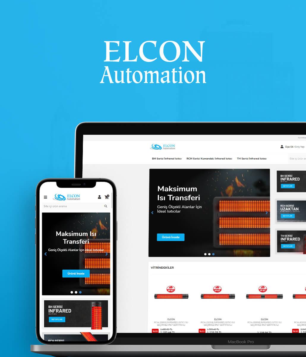 Elcon Automation E-Ticaret Sitesi