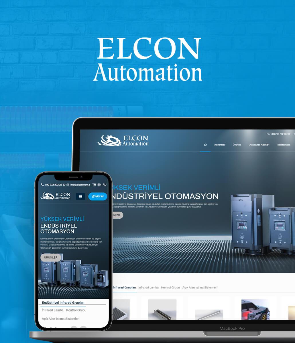 Elcon Automation Kurumsal Web Tasarım
