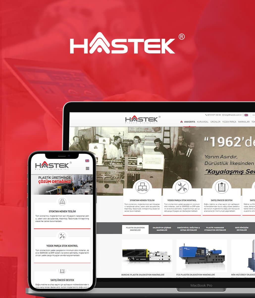 Hastek Plastik Kurumsal Web Sitesi