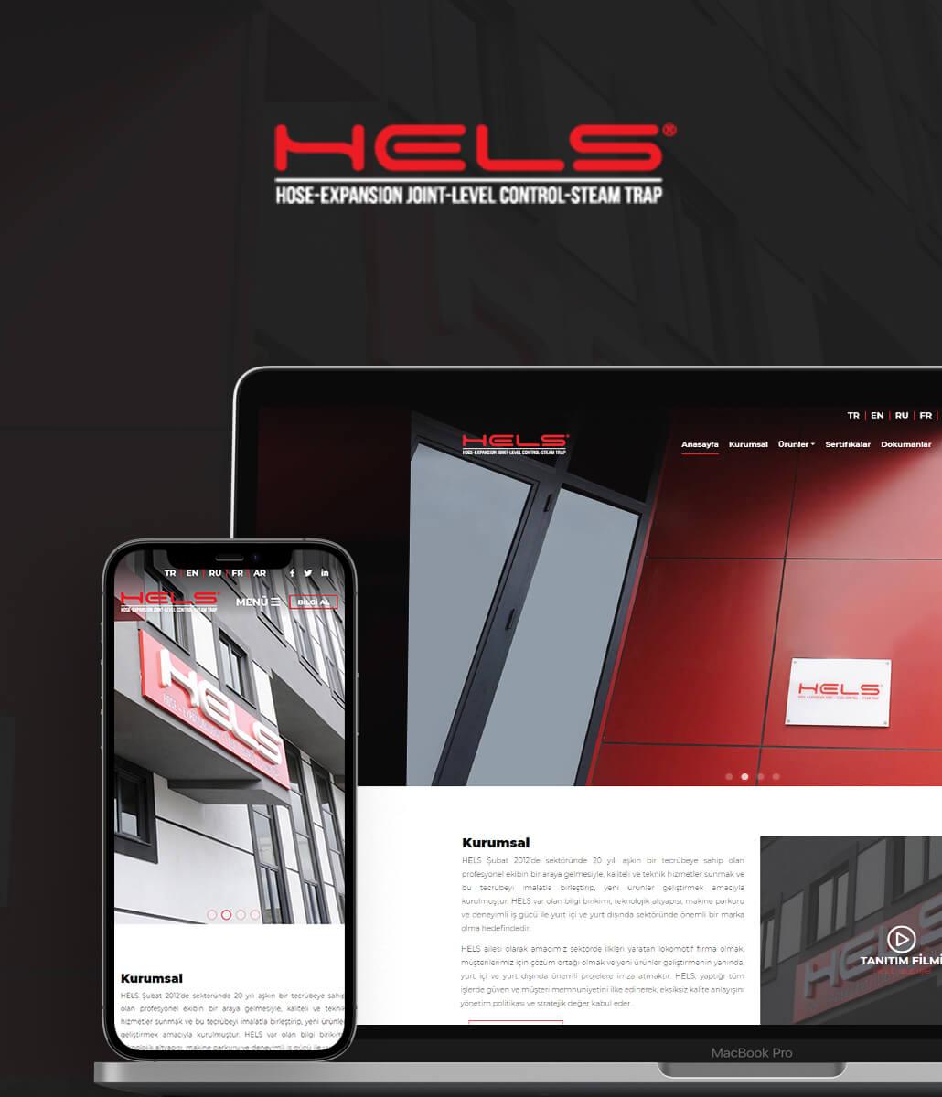 Hels Endüstriyel Web Tasarım