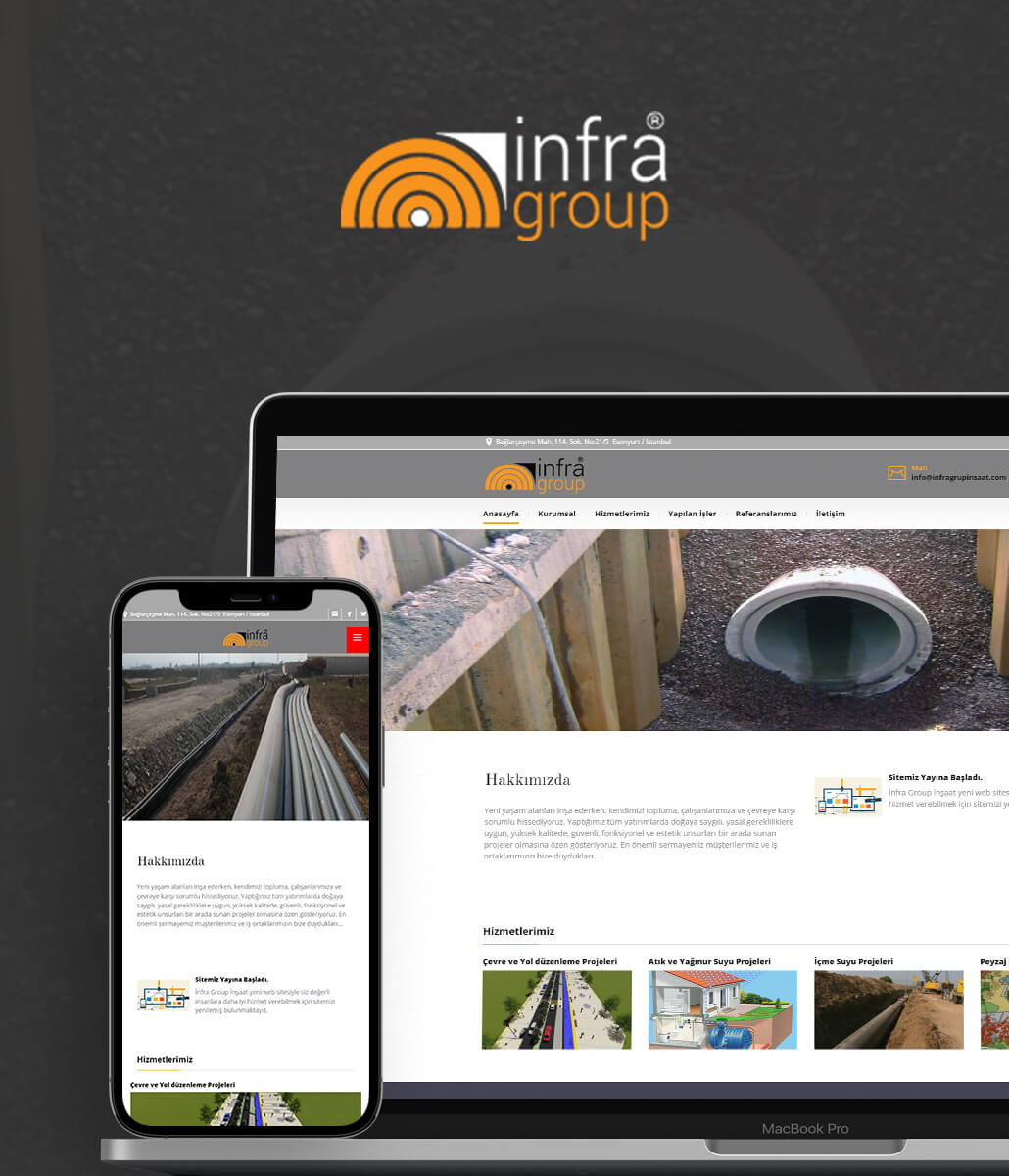 İnfra Grup Web Tasarım