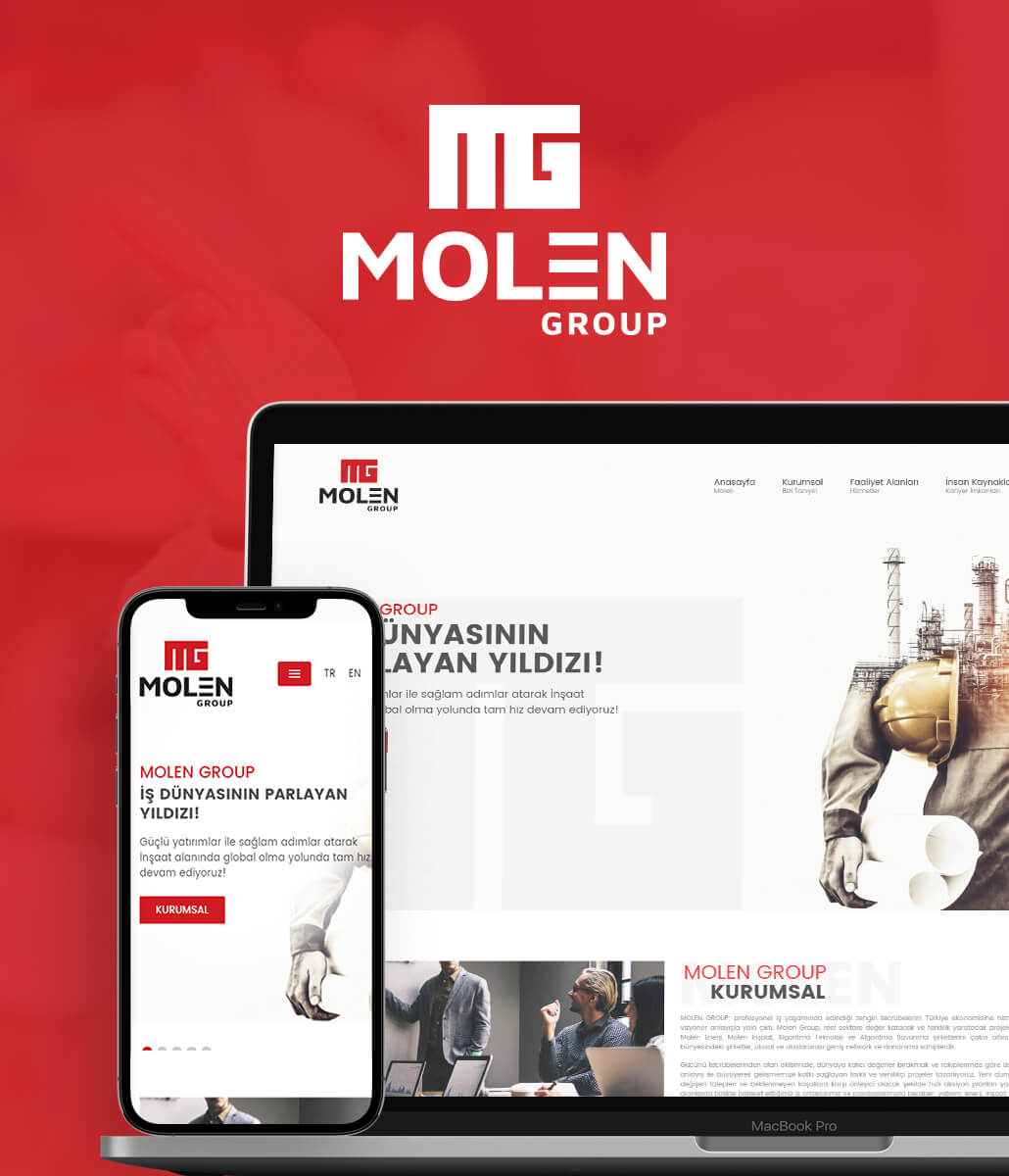 MOLEN GROUP WEB TASARIM