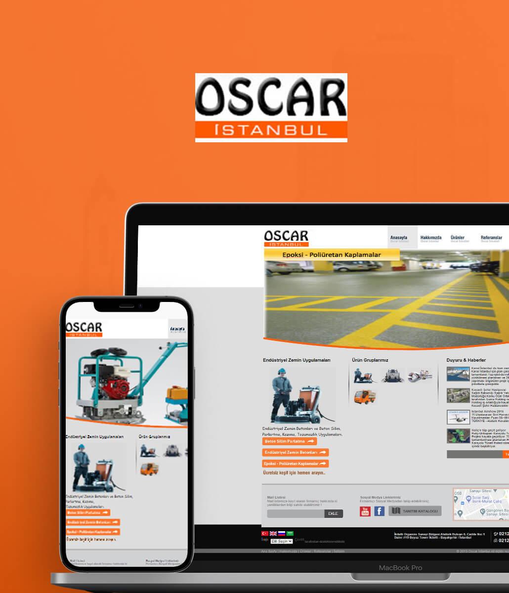 Oscar İstanbul Web Tasarım