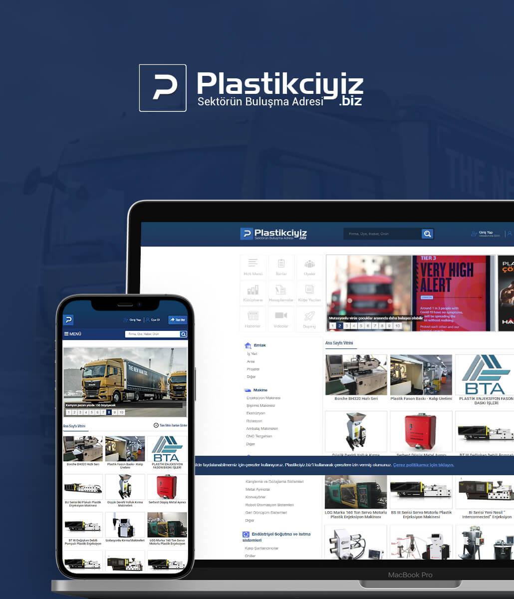 Plastikciyiz.biz Sektörel Portal Sitesi