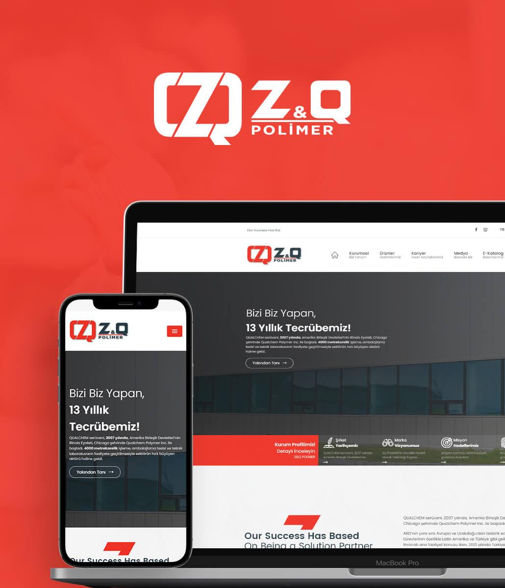 Z&Q Polimer Web Tasarım