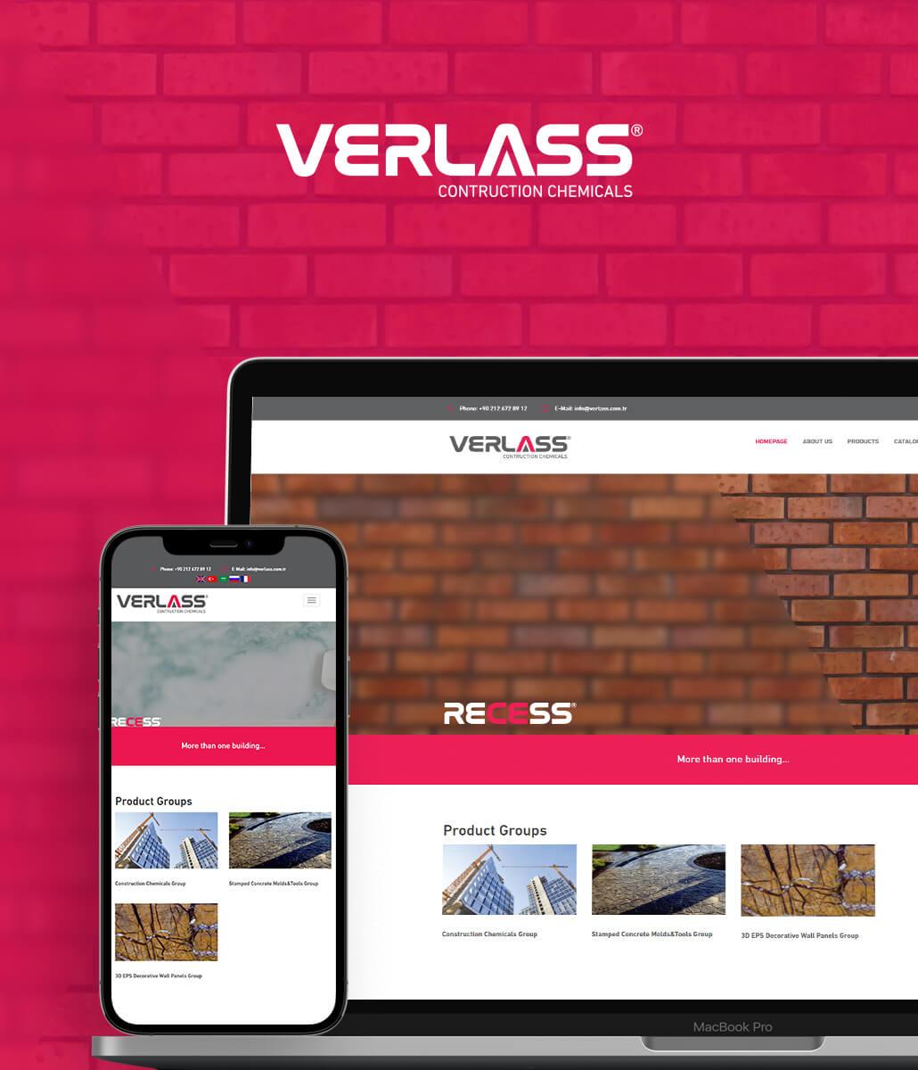 Verlass Kurumsal Web Sitesi