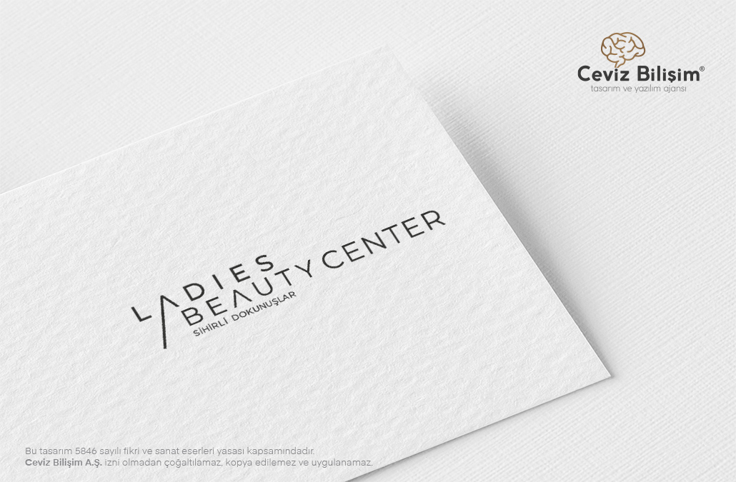 Ladies Beauty Center Logo Tasarımı