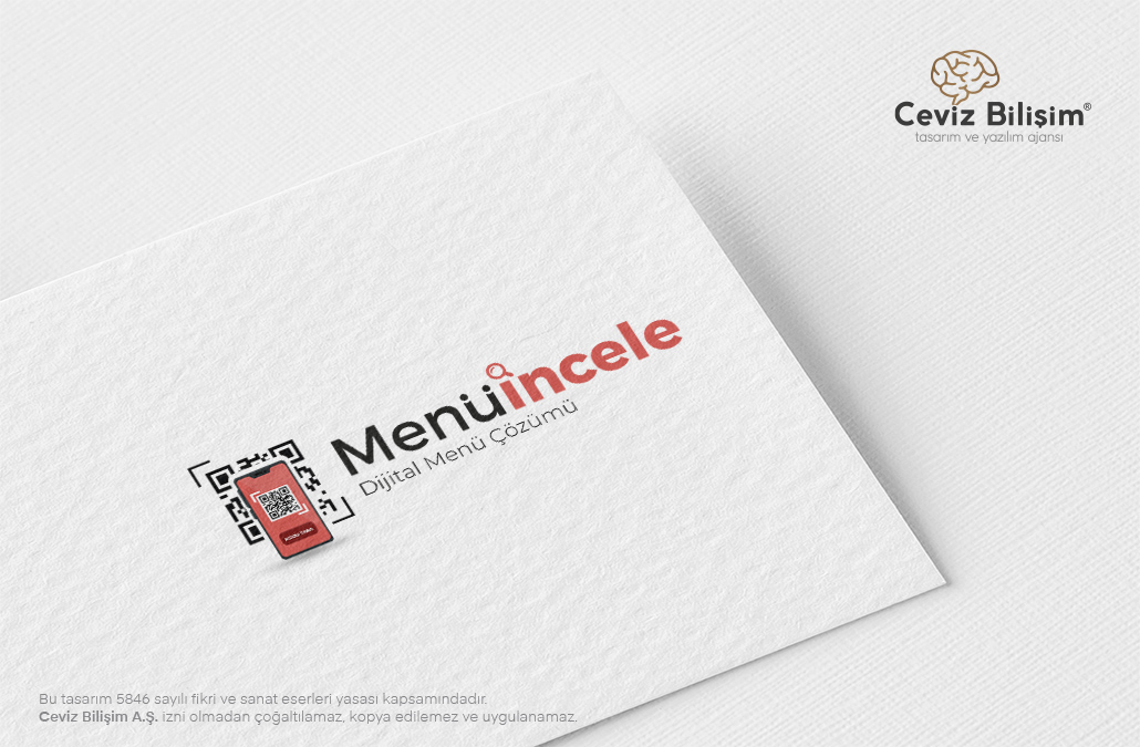 Menüincele Logo Tasarımı