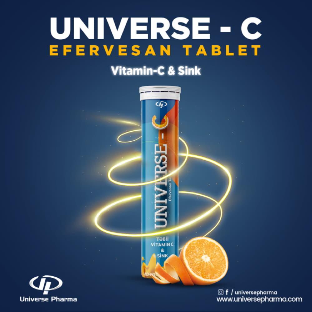 Universe Pharma Gıda Takviye Ürünü Sosyal Medya Paylaşımı